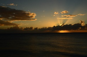 Sunset in Rincon
