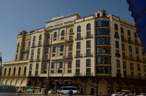 The hotel Parque Central from the outside