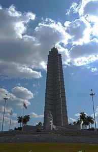The monument to José Marti in Revolution Square