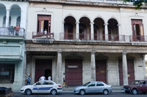 This is one of the two schools who's gym classes were out on el Prado.