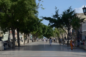 Paseo el Prado in Havana
