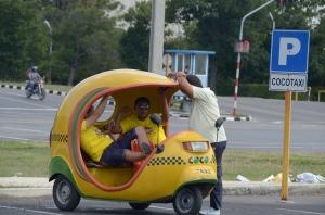 A Coco Taxi!