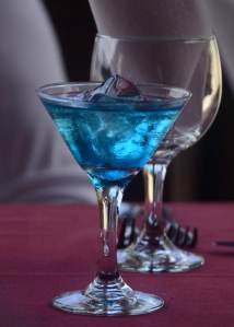 Blue Curacao and sprite - Try it!