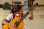 Guitarist at the music school,