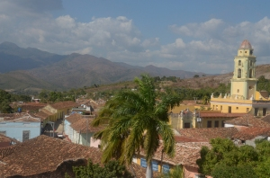View from the Palacio Cantero tower roof.