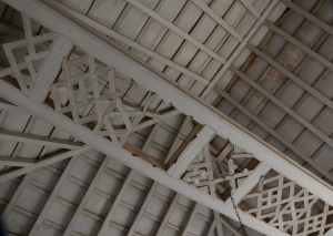 Typical ceiling in Trinidad