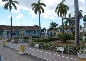 Plaza Mayor - the square - in Trinidad