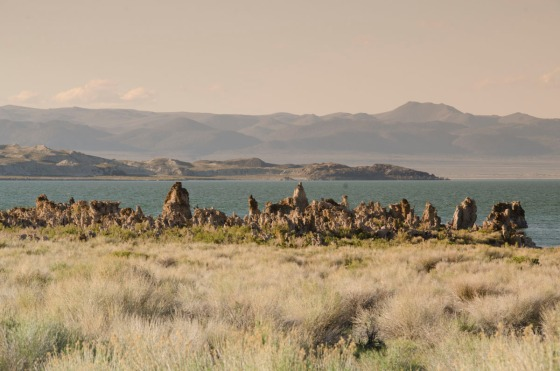 During our scouting trip in the afternoon, tufa and Mono Lake