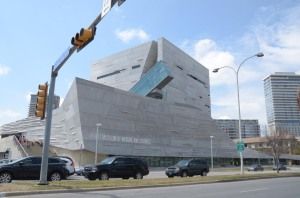 The Perot Museum - a very fancy building
