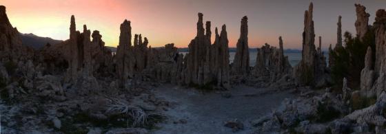 More tufa at sunset