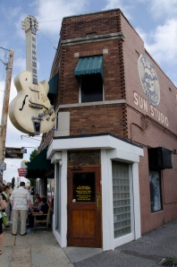 Sun Records outside