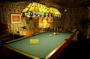 Elvis's pool room