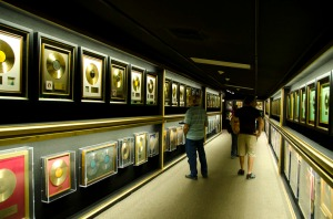 Gold records and more - an impressive display!