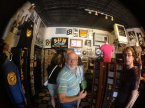 Fish eye in Sun Records