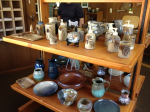 Representative samples of Arl's work and some of the other artists/artisans she carries.