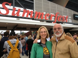 Un-photo-shopped proof that we were there!