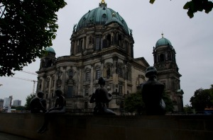 The big, important looking building that turned out to be the Berlin Cathedral.