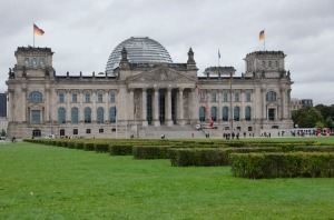 The Reichstag, by day