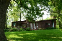 Another Usonian house, also used by a professor