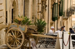 Sicialian cart - we have seen none in actual use.