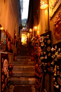 Another art gallery in Taormina