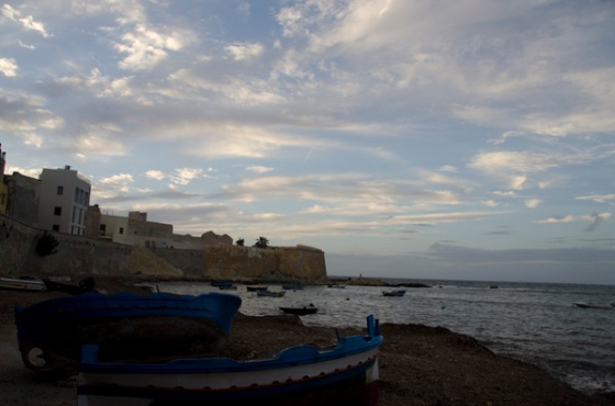 Sunset over Trapani