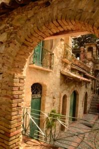 In the Giardine Comunale di Taormina