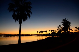 Dawn in San Diego - Near Mission Bay