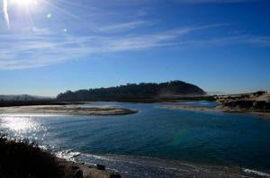 Tidal estuary at Torrey Pines