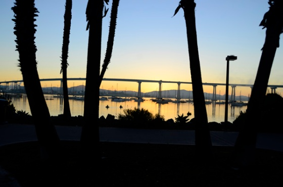 Beautiful sunrise from Coronado