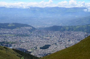 That's Quito from the Teleferico.
