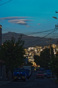 Another early morning view in Quito