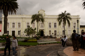 Town Hall in Otavalo