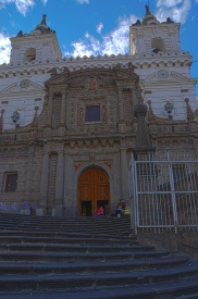 Façade of the Iglesia de San Francisco