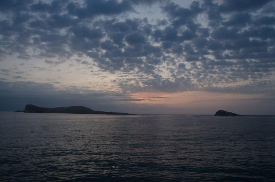 Dawn near Española.