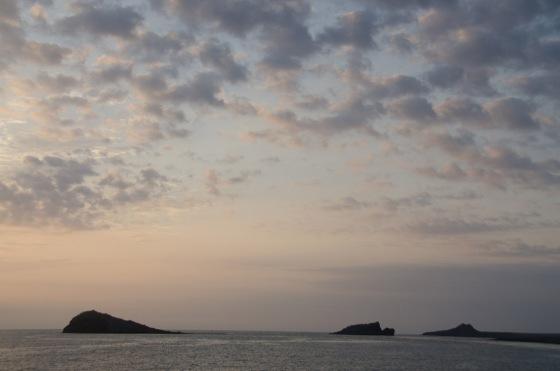 Sunrise near Española.