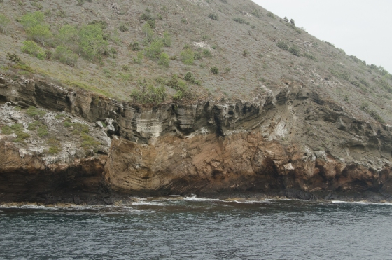 The geology of this island was fascinating - Like the entire Galapagos!