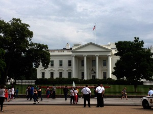 The White House from the other side.