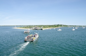 The Chappaquiddick Ferry ride takes about 3 minutes!
