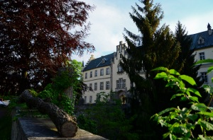 This is the actual Hruba Skala castle - where the Zamecky hotel.