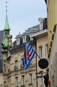 This is the old Luxembourgish flag, but the one they prefer to use for international sporting competitions.