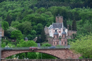 Even a town as unassuming as Miltenberg has a castle!
