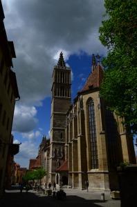Saint James' Church in Rothernburg