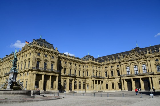 price-Bishops' palace in Wurzburg