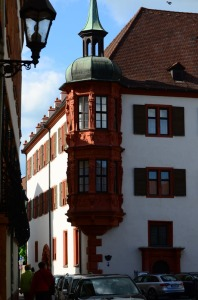 Interesting corner in Wurzburg.