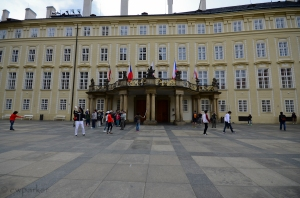 Palace within Prague Castle