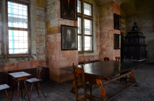 Actually a room used by the royal family for casual entertaining, Prague Castle