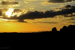 Another glorious sunset in Arches National Park.