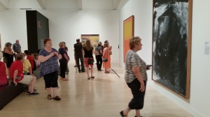 "Milwaukee Art Museum Show ""Van Gogh to Pollock: Modern Rebels"" gallery shot"