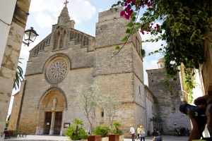Sant Juame Church in Alcudia.